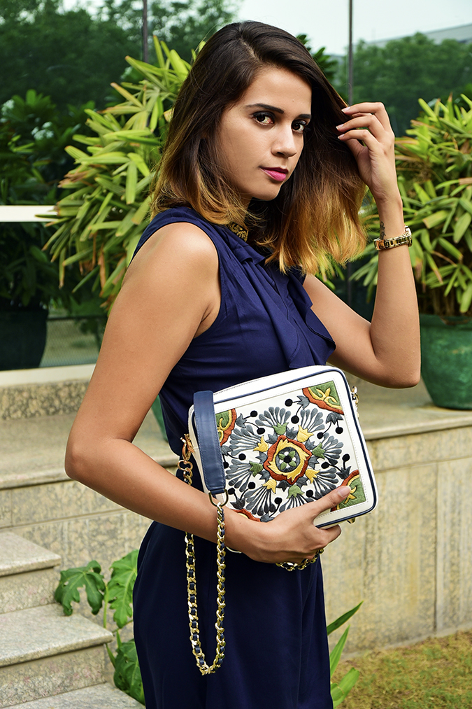 Playsuits | Sbuys | Akanksha Redhu | half side bag in arm