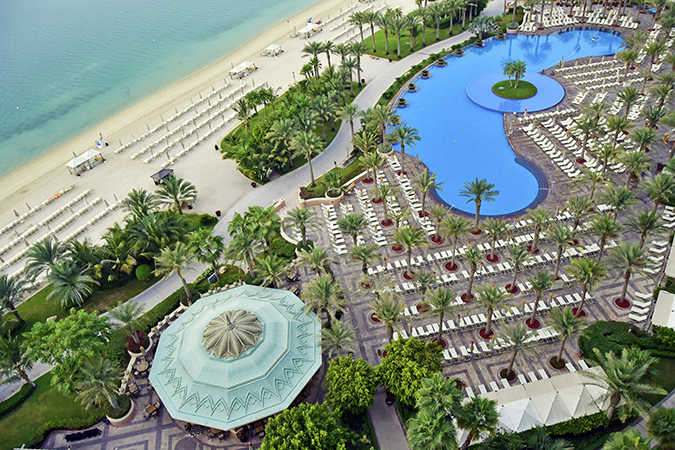 Emirates Holidays | Dubai | Akanksha Redhu | atlantis pool view from room