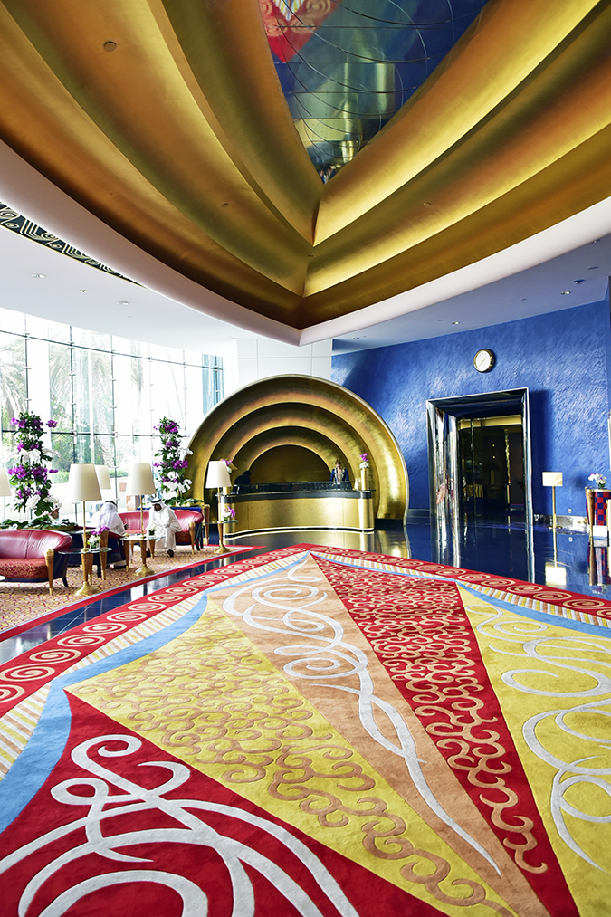 Emirates Holidays | Dubai | Akanksha Redhu | burj al arab entry