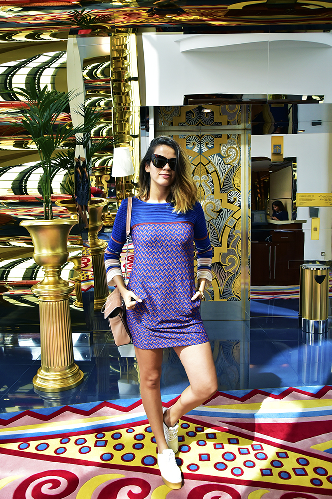 Emirates Holidays | Dubai | Akanksha Redhu | burj al arab missoni look