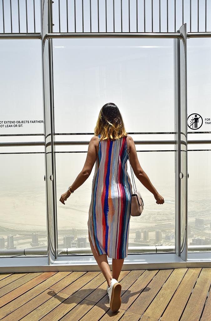 Emirates Holidays | Dubai | Akanksha Redhu | burj khalifa look back hm