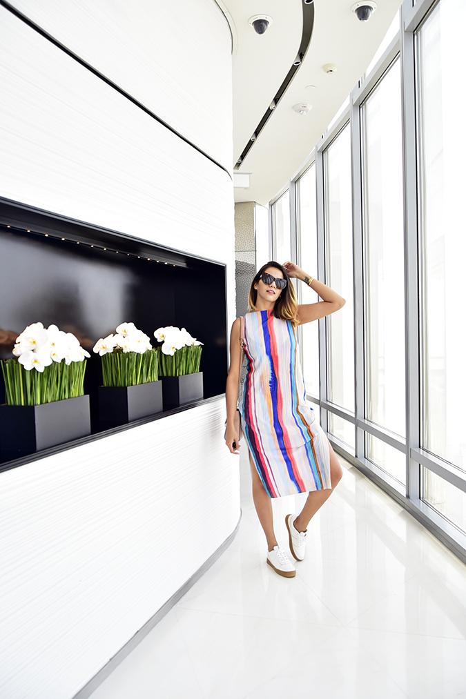 Emirates Holidays | Dubai | Akanksha Redhu | burj khalifa look hm indoors
