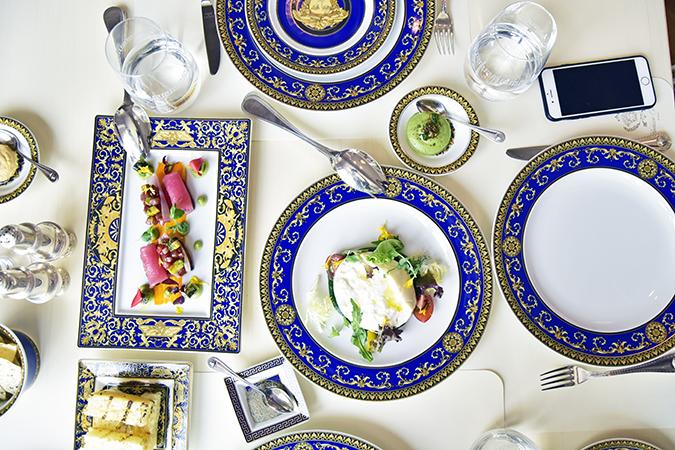 Emirates Holidays | Dubai | Akanksha Redhu | palazzo versace vanitas lunch