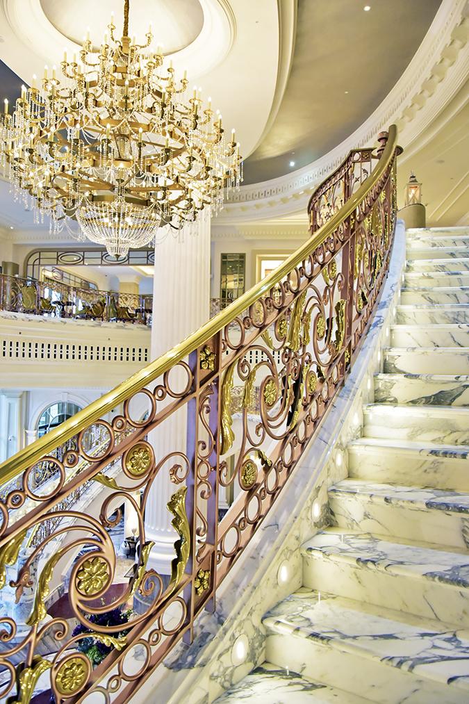 Emirates Holidays | Dubai | Akanksha Redhu | st regis staircase