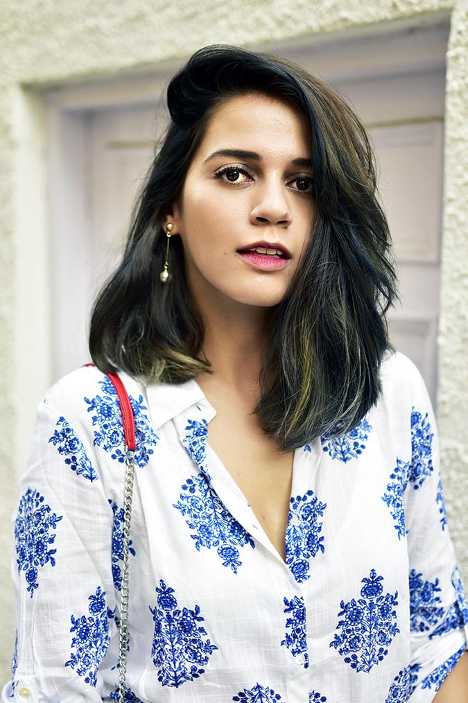 Amazon India   Akanksha Redhu   face portrait front