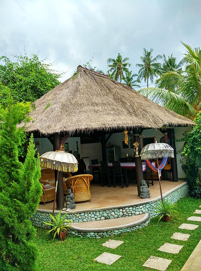 Lovina Beach | Bali | Akanksha Redhu | lounge area
