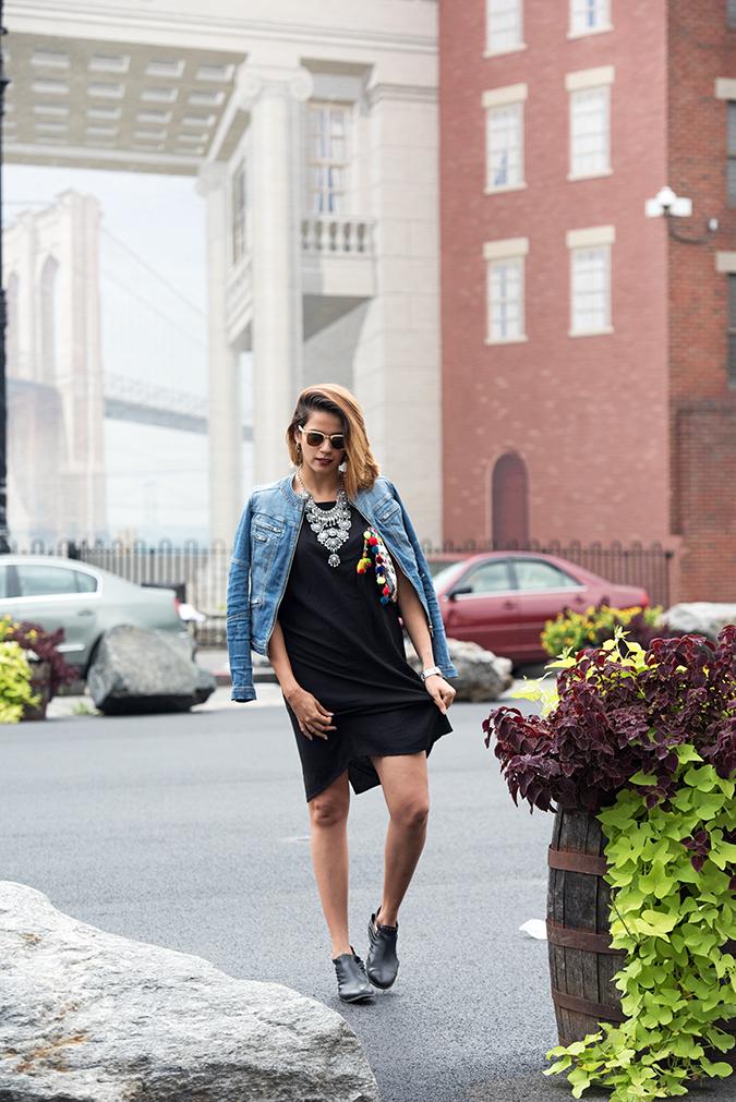 New York | Akanksha Redhu | full front jacket shoulders