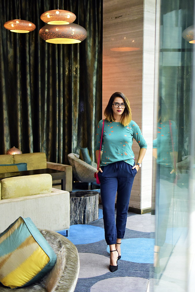 Benetton India | Akanksha Redhu | full front far hands in pockets