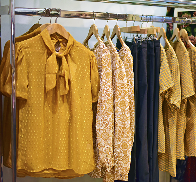 Wills Lifestyle AW16 | Akanksha Redhu | mustard section