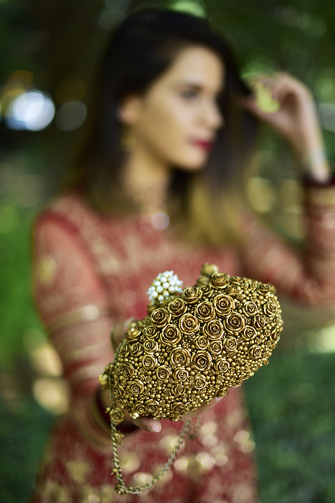 Tarun Tahiliani | Akanksha Redhu | bag in focus