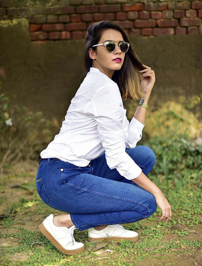 Calvin Klein | Akanksha Redhu | sitting