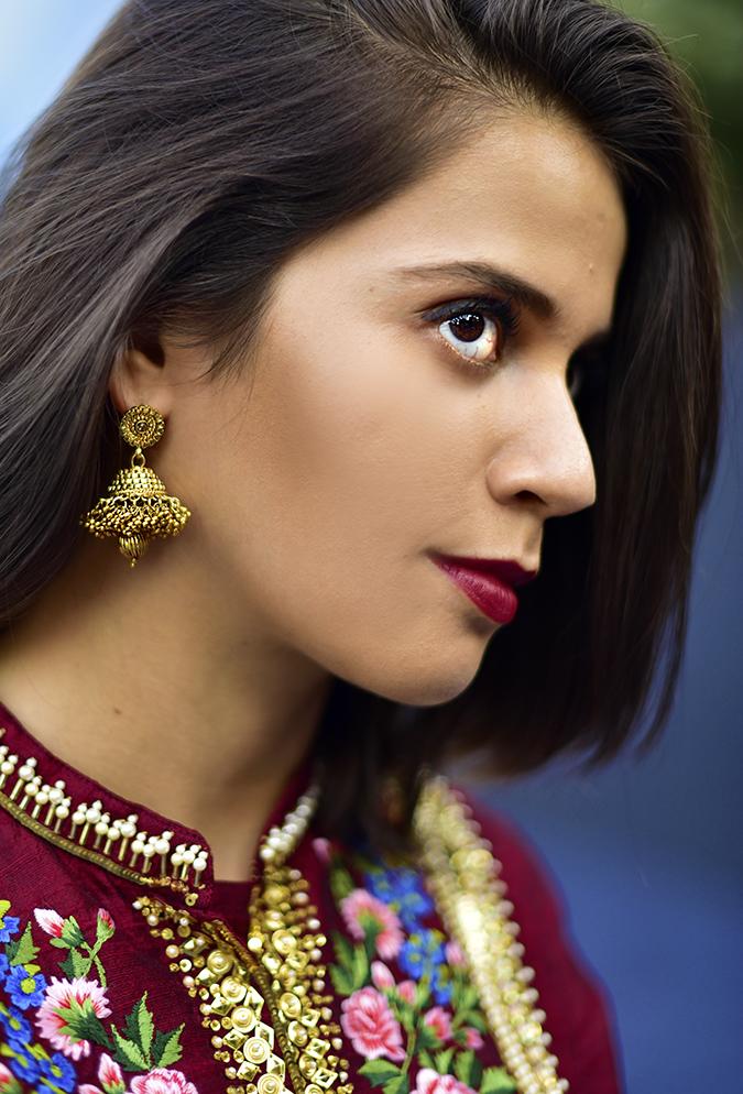 #AIFWSS17 | Akanksha Redhu | jhumki hair cut