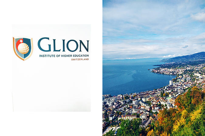 #GlionLuxury | Akanksha Redhu | glion branding and view combo 27