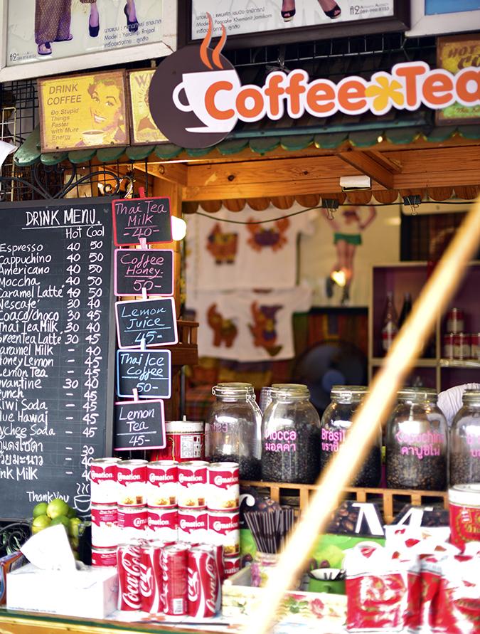 Chatuchak Weekend Market Bangkok | Akanksha Redhu | coffee shop