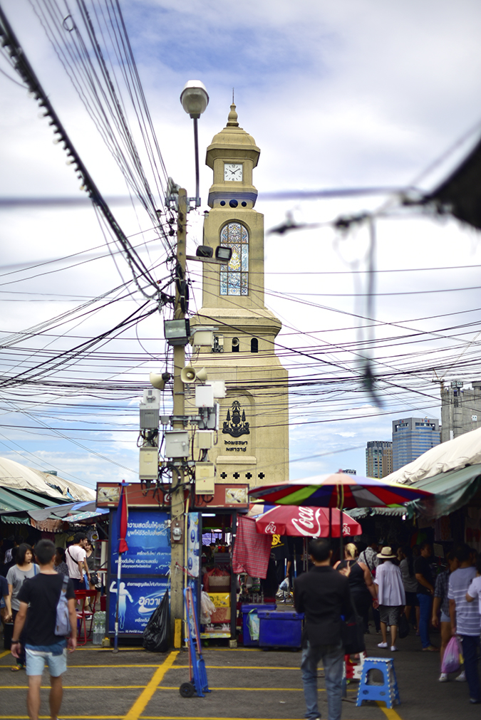 Chatuchak Weekend Market Bangkok | Akanksha Redhu | clock tower