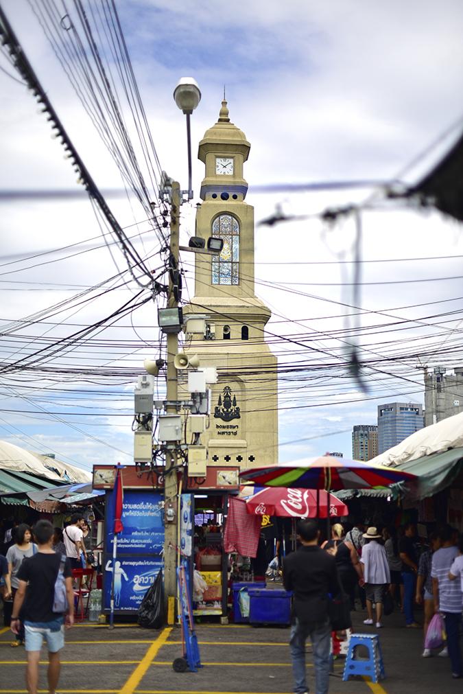 Chatuchak Weekend Market Bangkok | Akanksha Redhu | clock tower