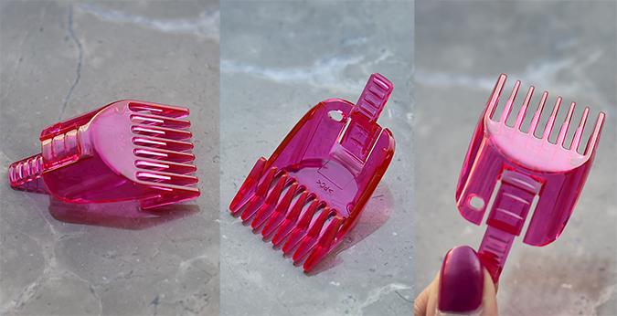 Veet Sensitive Touch Beauty Trimmer | Akanksha Redhu | big comb closeup trio