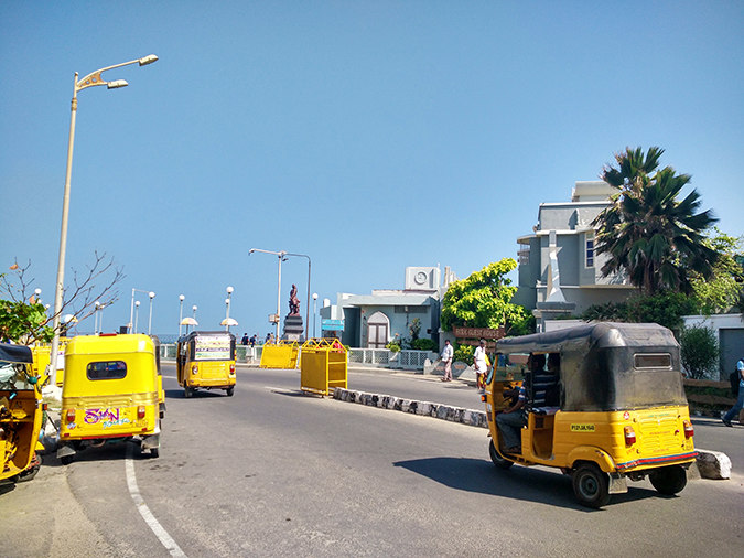 Pondicherry | Akanksha Redhu | rickshaws in pondy