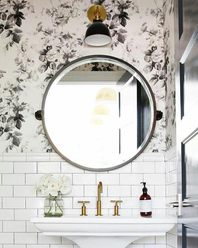 Home Inspo | Akanksha Redhu | round mirror