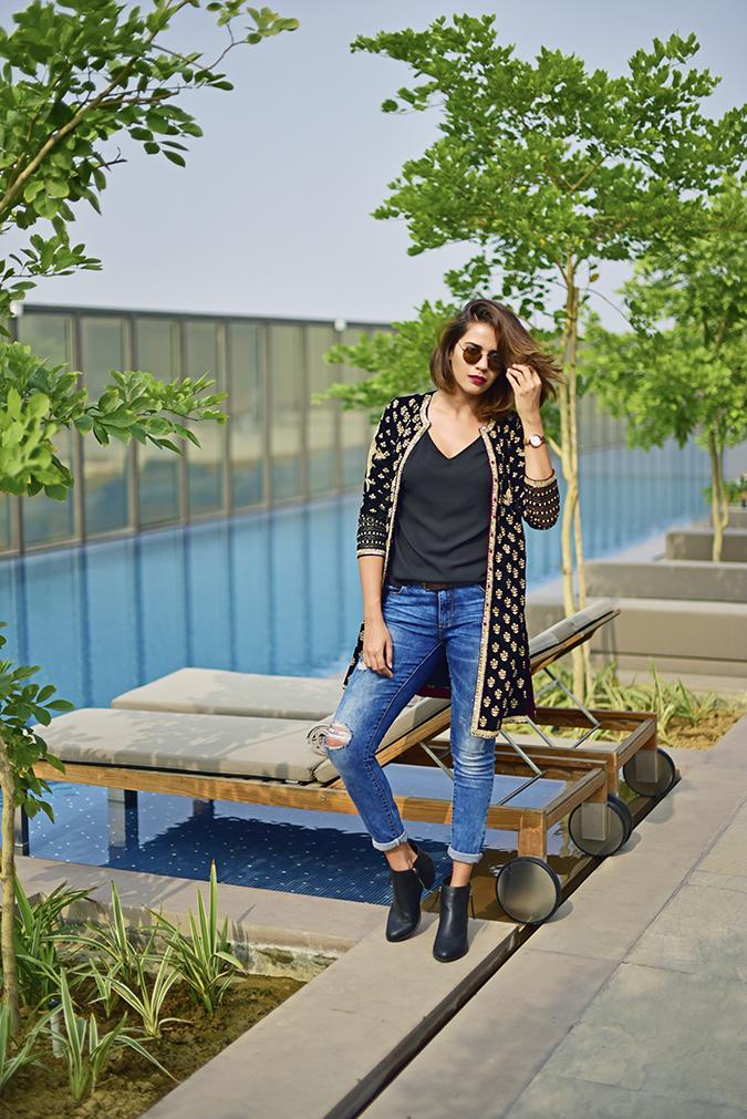 Aditi Somani | Akanksha Redhu | full front hair flip