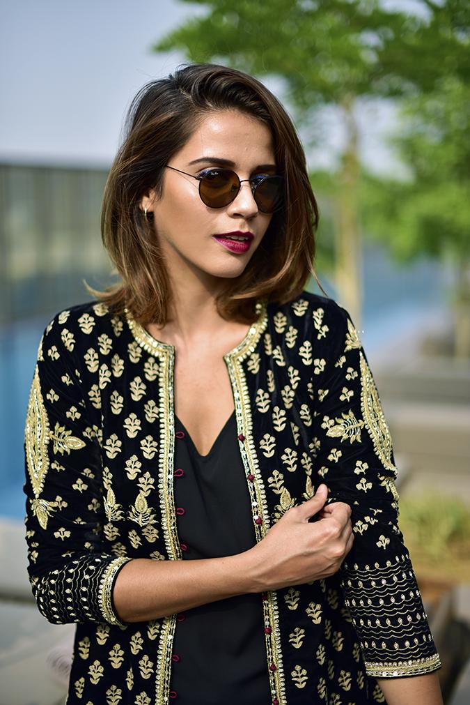 Aditi Somani | Akanksha Redhu | half front pulling sleeve