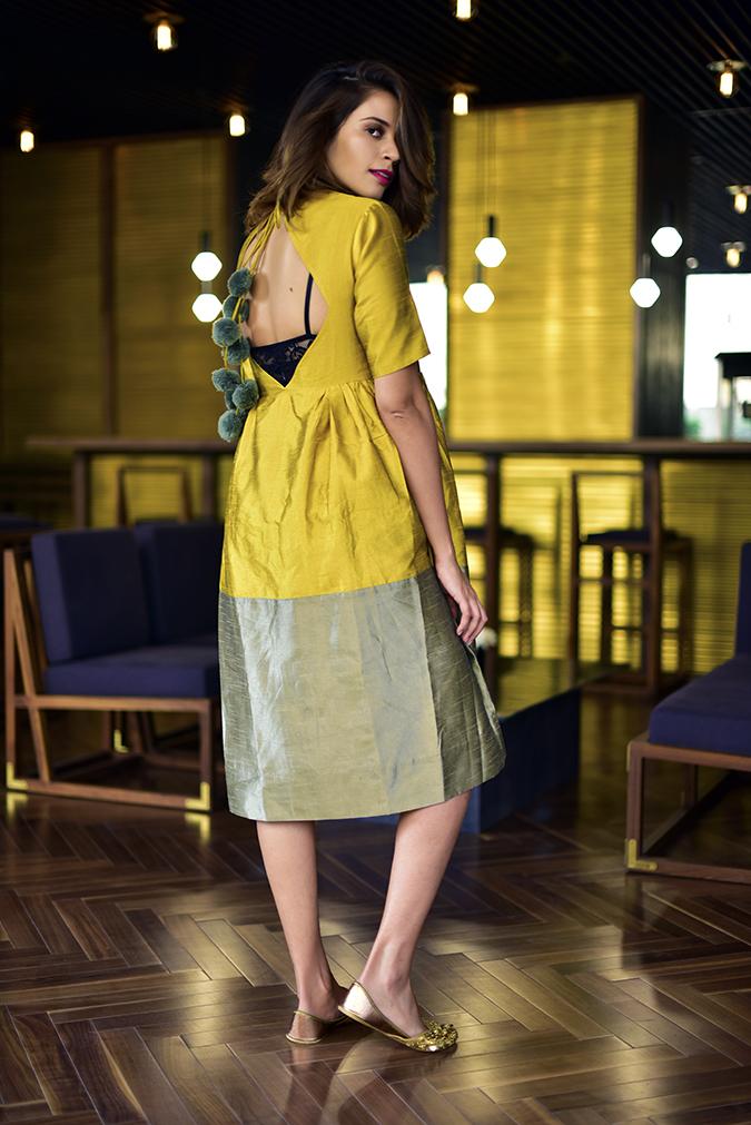 Golden Girl | Akanksha Redhu | full back looking back