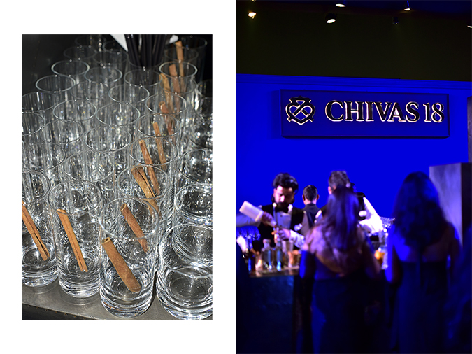 Chivas 18 Alchemy | Akanksha Redhu | cinnamon glass bar combo
