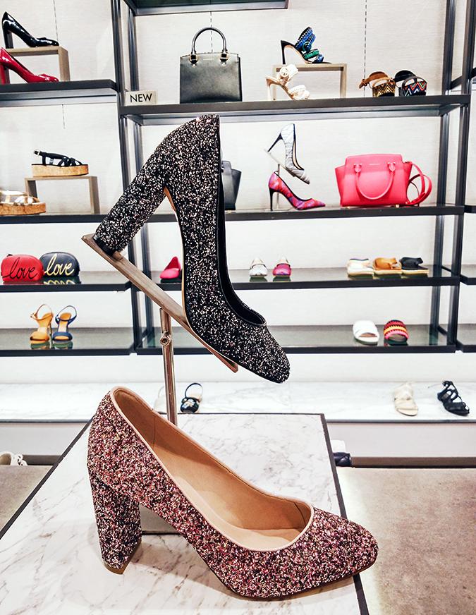 Charles & Keith | Akanksha Redhu | glitter heels