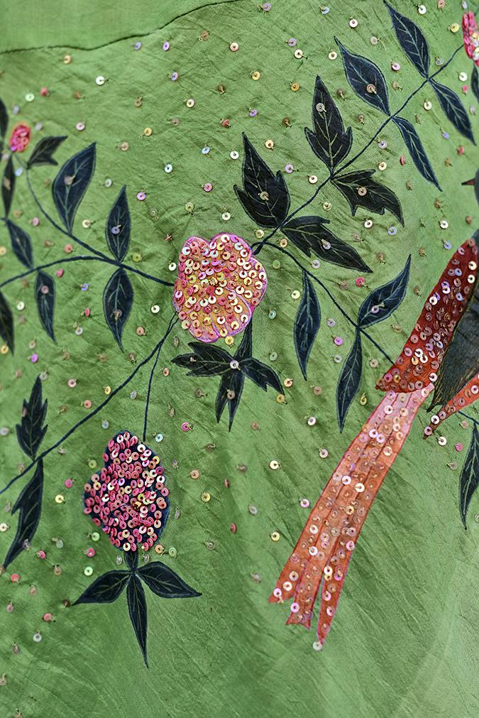 Bhusattva | Akanksha Redhu | embroidery closeup