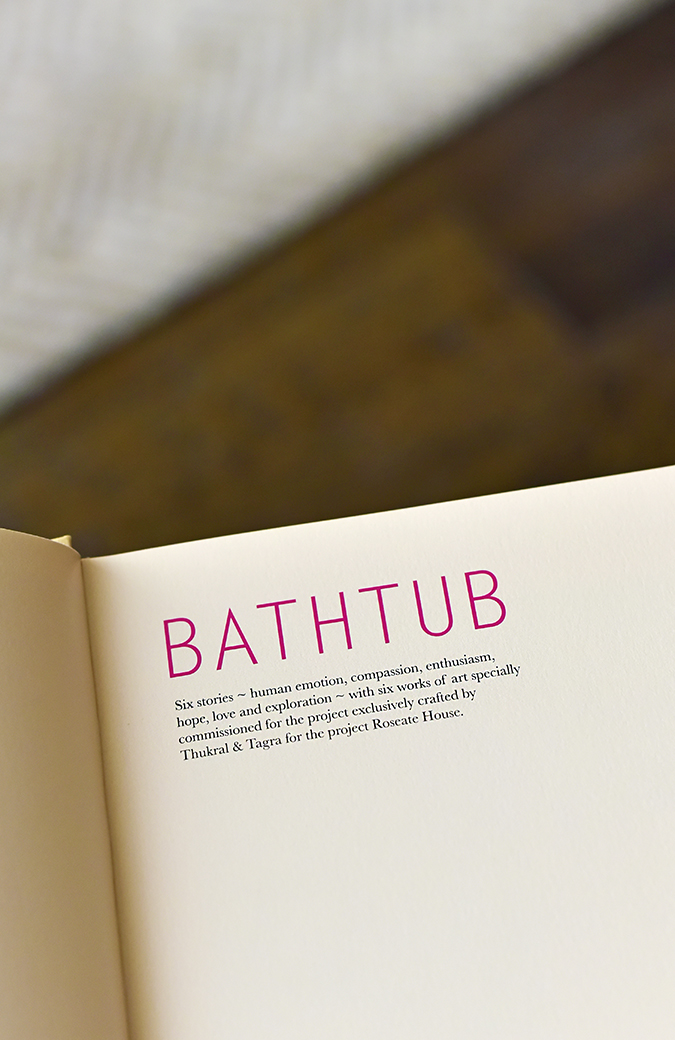 Roseate House | Akanksha Redhu | bathtub concept note