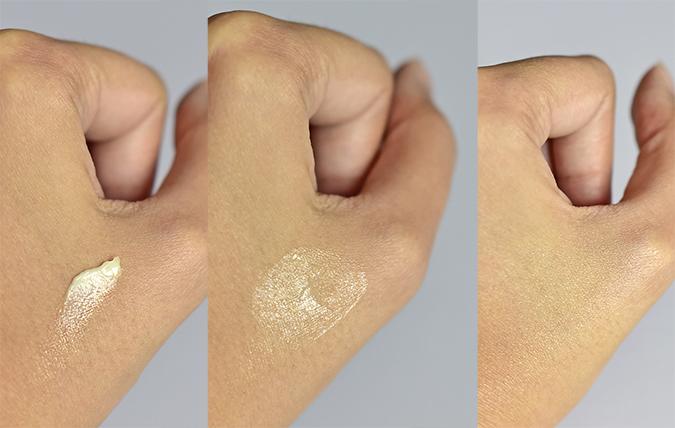 Alpha-H Beauty Sleep Power Peel   Akanksha Redhu   texture on hand