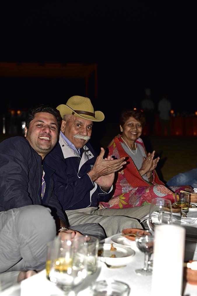 Suryagarh Jaisalmer | Akanksha Redhu | aman dad mom sand dunes flash