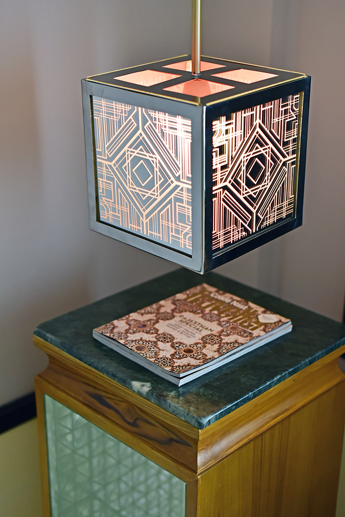 Narendra Bhawan | Akanksha Redhu | art deco lamp