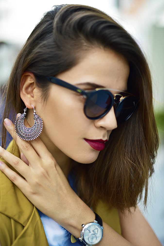 Amazon India Fashion Week | Akanksha Redhu | earring