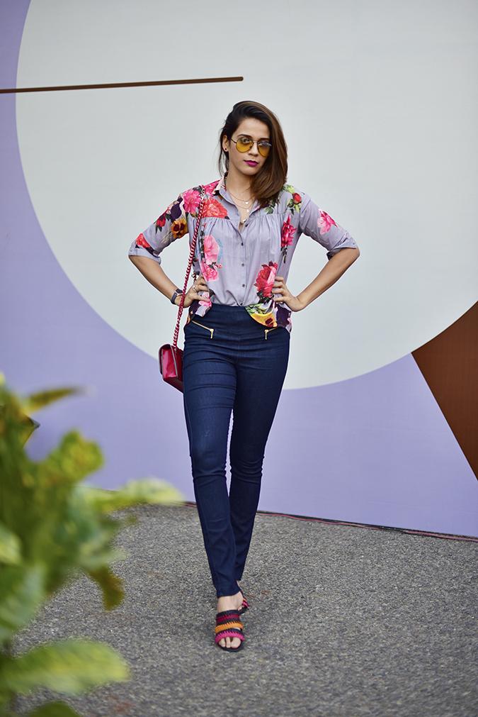 Amazon India Fashion Week | Akanksha Redhu | full front leg front