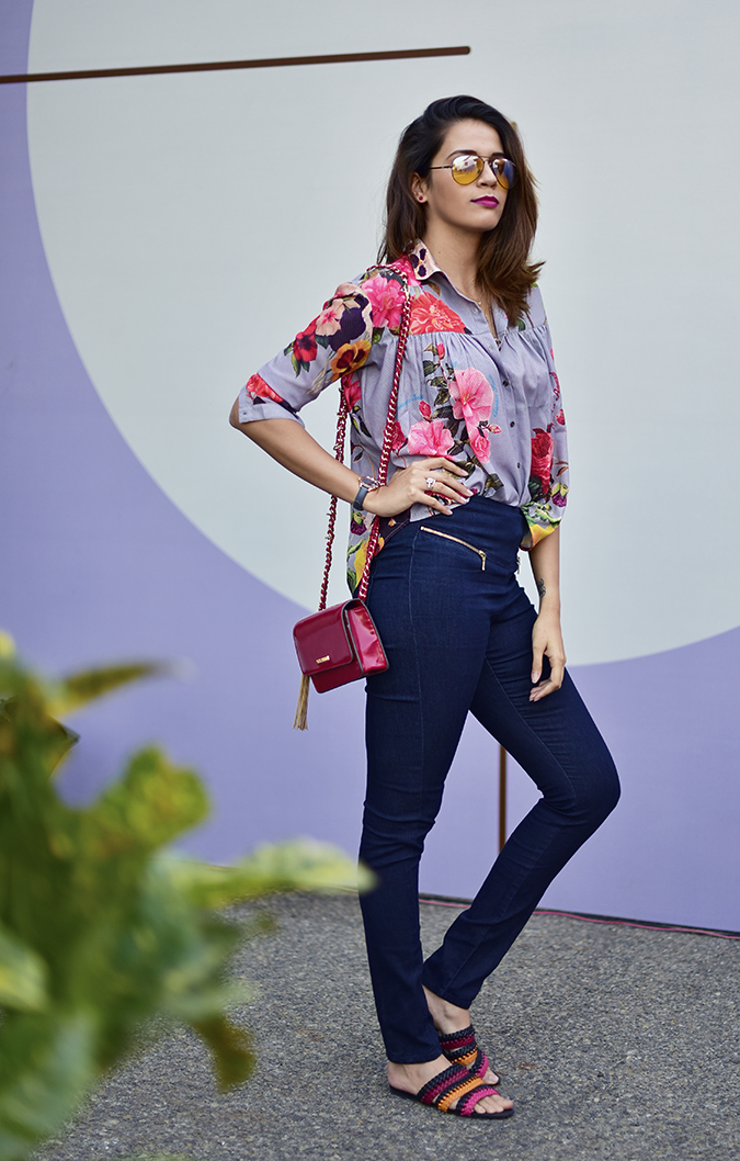 Amazon India Fashion Week | Akanksha Redhu | full side tucked in front