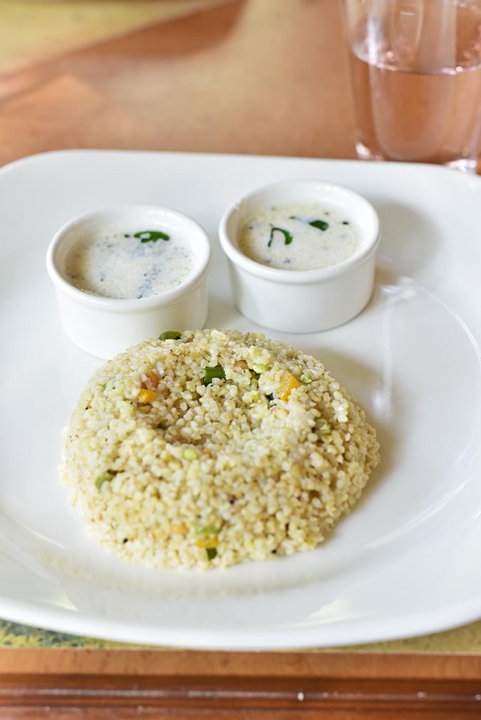 Kairali Ayurvedic Healing Village | Akanksha Redhu | rice breakfast