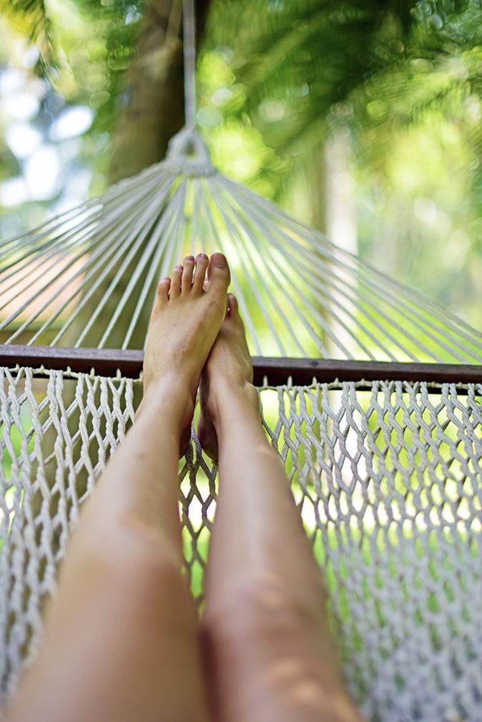 Kairali Ayurvedic Healing Village | Akanksha Redhu | legs hammock