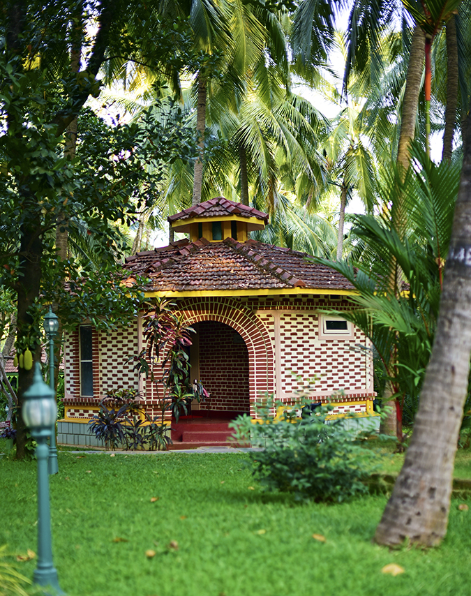 Kairali Ayurvedic Healing Village | Akanksha Redhu | brick villa long
