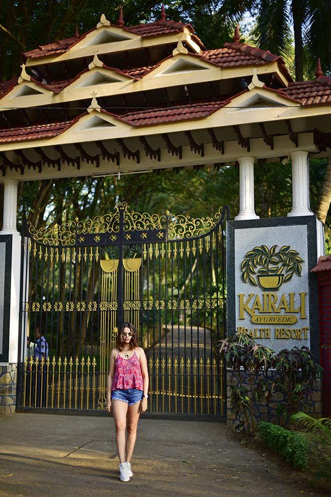 Kairali Ayurvedic Healing Village | Akanksha Redhu | full front full gate