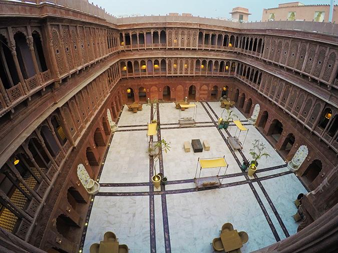 Narendra Bhawan | Akanksha Redhu | courtyard gopro