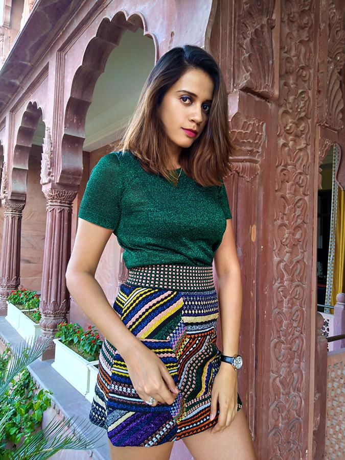 Nubia Z11 miniS | Akanksha Redhu | half front outfit