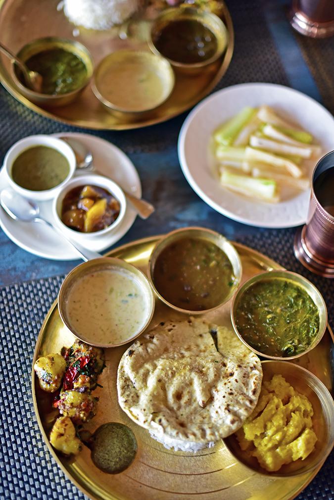 DYO The Organic Village Resort   Akanksha Redhu   Kumaoni thali