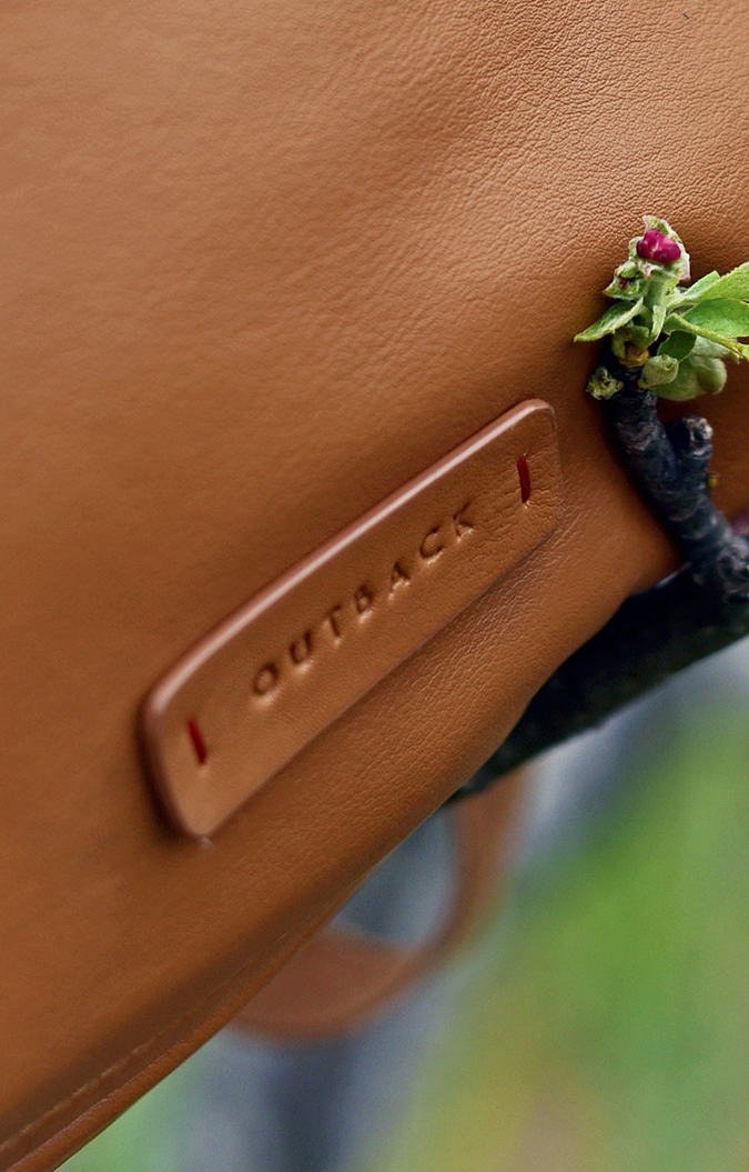 Outback | Akanksha Redhu | label closeup