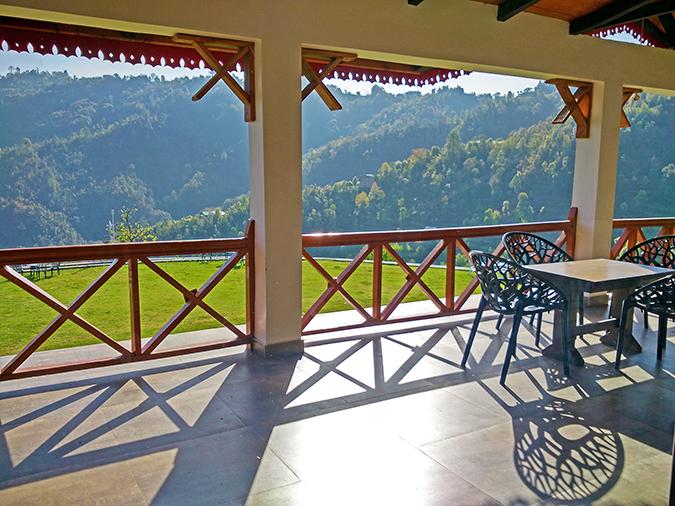 DYO The Organic Village Resort   Akanksha Redhu   cafe terrace