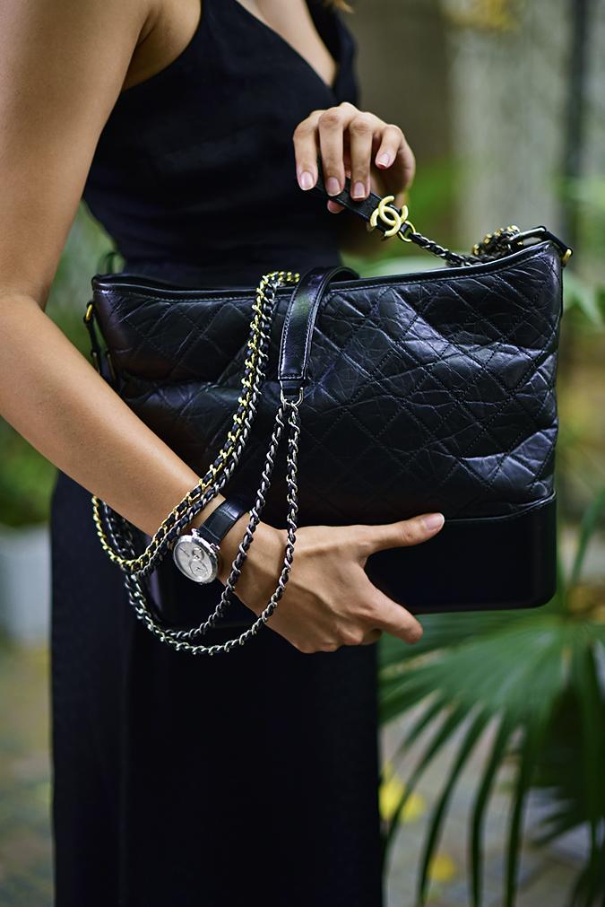 Chanel Gabrielle Bag | Akanksha Redhu faceless chain side