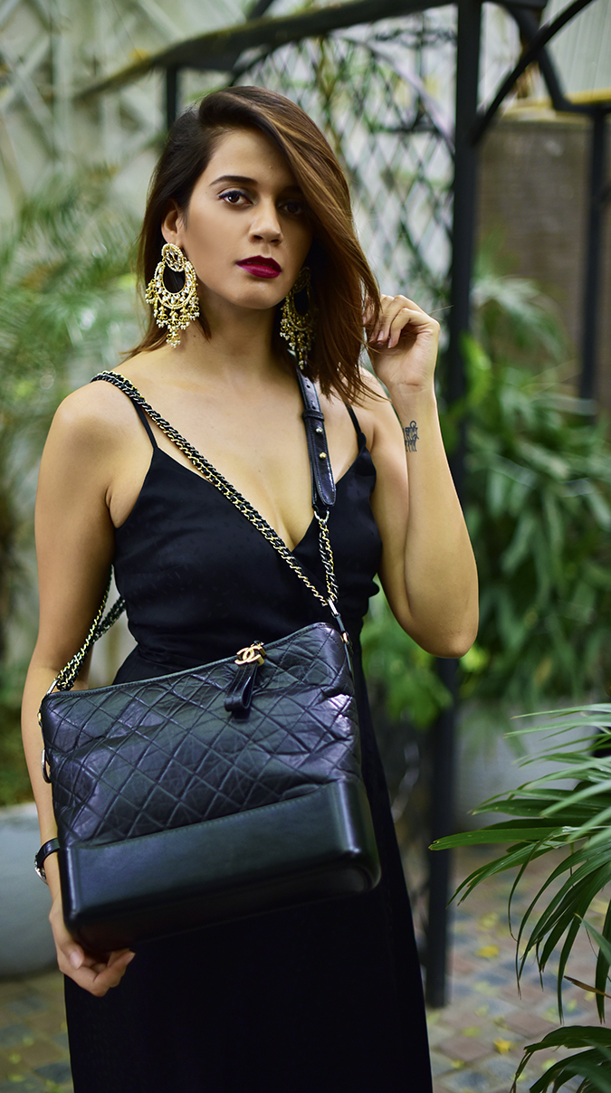 Chanel Gabrielle Bag | Akanksha Redhu half front v sling long