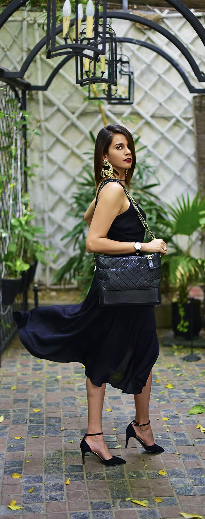 Chanel Gabrielle Bag | Akanksha Redhu full side fly long