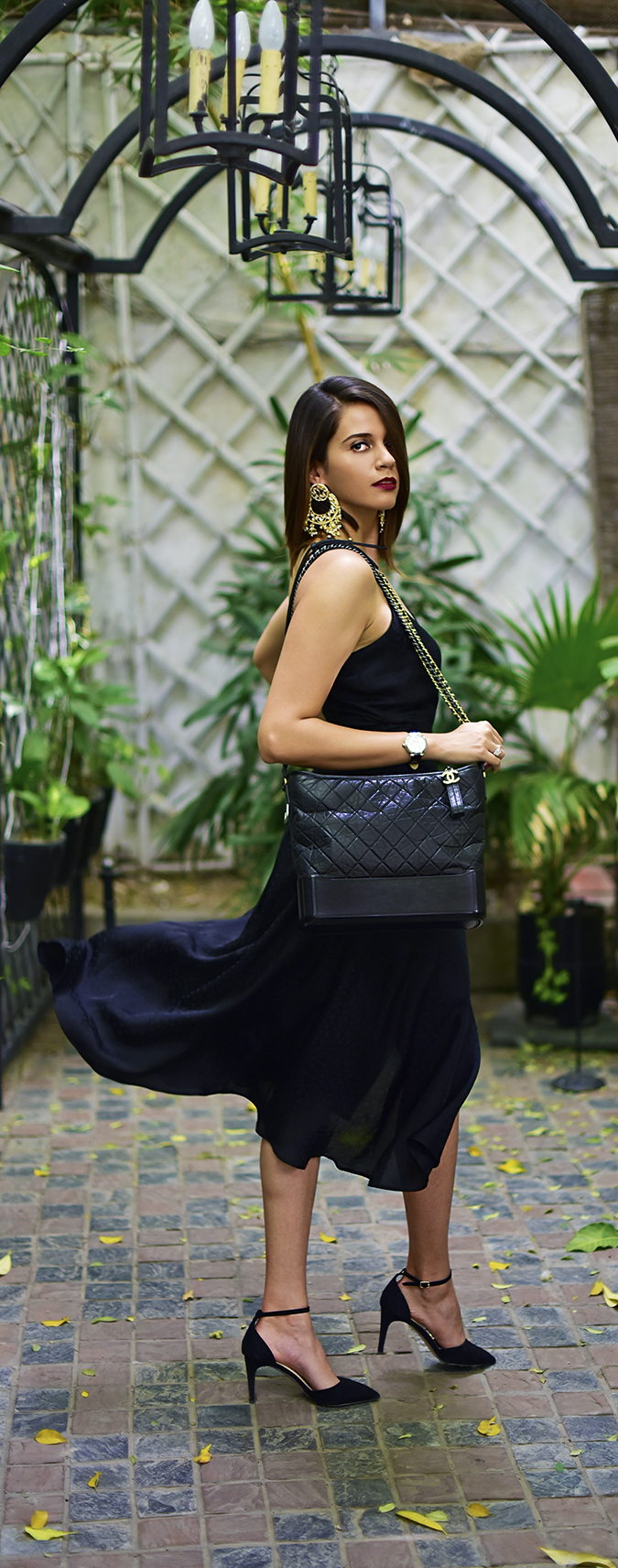 Chanel Gabrielle Bag | Akanksha Redhu full side fly long