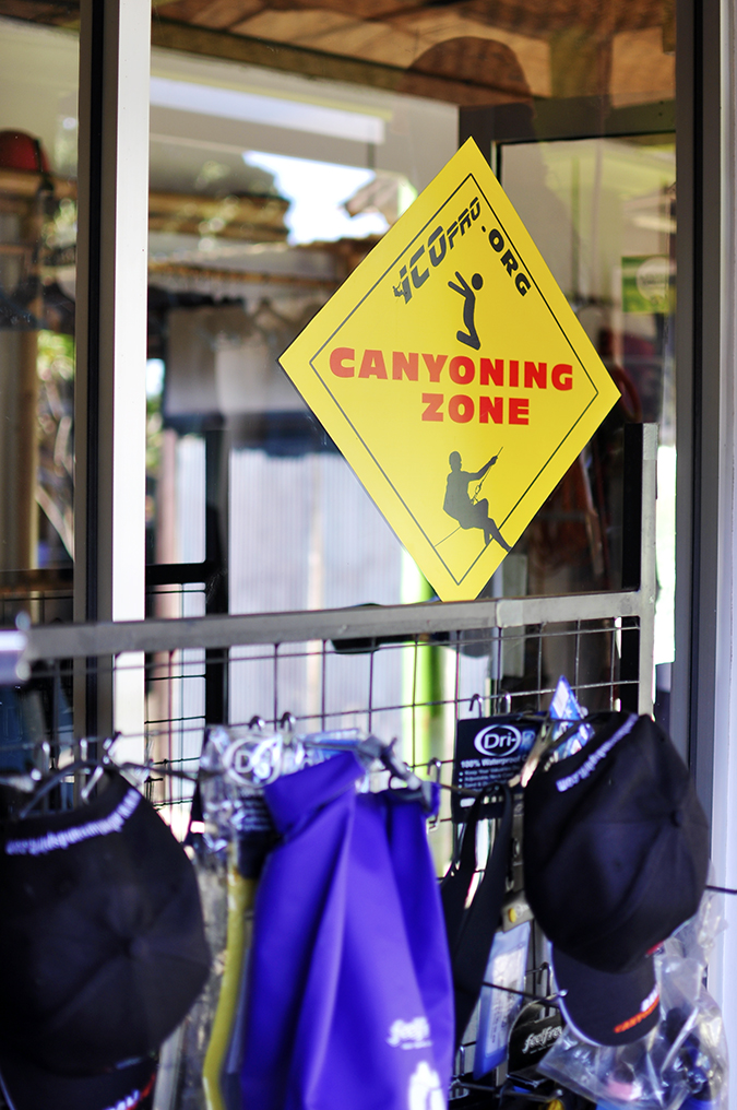 Canyoning in Bali | Akanksha Redhu | canyoning sticker